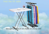 HDPE Quality Steel Outdoor Furniture Extendable Folding Table