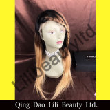 Lilibeauty Hair 130% Density Human Hair Full Lace 1b/4/27 Color Brazilian Wigs for Black Women
