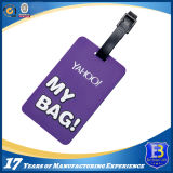 Customer Design Logo Soft PVC Luggage Tag