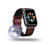 Napov Newest for Apple Watch Series 2 42mm Carbon Fiber Cover Cases