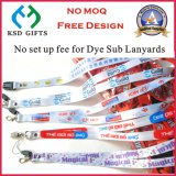 Competitive Price Dye Sub Lanyard China Supplier (KSD-857)