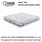 Bamboo Charcoal Latex Spring Mattress with Green Tea Fabric Cover (FB871)