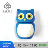 Cheap Bulk Owl Shape USB Flash Drive Animal PVC Memory USB Stick
