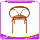 Classical Fashion Ball Backrest Plastic Chair Mold