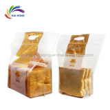 Good Price Plastic Packaging Bag Brown Kraft Food Paper Bag Bread Paper Bag with Your Logo Print