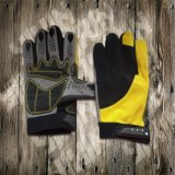 Safety Glove-Working Glove-Industrial Glove-Machine Glove-Protected Glove-Synthetic Leather Glove