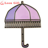 Custom Gold Umbrella Enamel Lapel Pins for Wholesale