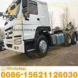 Hot Sale 375HP Second-Hand Sinotruk HOWO 10wheels Used Horse Tractor Head Truck with Excellent Condition Reasonable Price for Africa Marketing