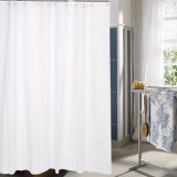 Modern Style Solid Anti-Mildew Waterproof PEVA Bathroom Shower Curtain (12S0033)