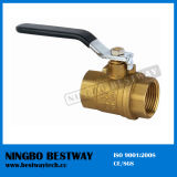 Forged Brass Ball Valve with Steel Handle