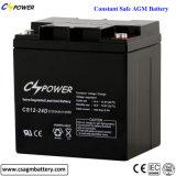 China Lead Acid Battery 12V24ah, for UPS/Alarm/Lighting