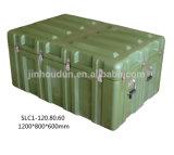 Waterproof Rotational Molding Hard Military Plastic Large Storage Carry Case Rugged Instrument Box (SLC1-120.80.60)