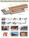 Automatic Clay Brick Making Machine with Various Capacity