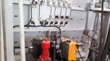 2.5m Double Sealant System Automatic Silicone Sealing Machine