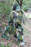 2016 Breathable Durable Woodland Camo Ghillie Suit for Hunting