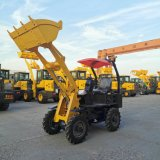 High Effciency Mini Articulated Wheel Loader for Sale