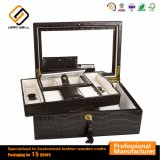Two Layer Jewellry Safe Box with Lock and Key
