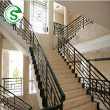 Factory Wholesale Beautiful Powder Coated Wrought Iron Staircase Handrail
