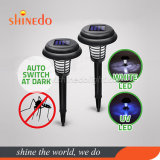 Solar Powered LED Pest Bug Zapper Insect Mosquito Fly Killer Lamp Garden Lawn