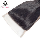 Alinybeauty Wholesale Price Virgin Brazilian Hair Lace Top Closure Swiss Lace
