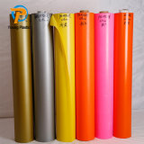 0.18mm Transparent Opaque Color Embossed Flexible PVC Film with Texture