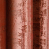 Abstract Glue Emboss Velvet Curtain Fabric/Stylish Design Furnishing Fabric / Upholstery Fabric