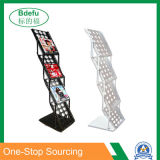 Standing Metal magazine Display Shelf Rack