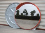 Easy Installation PC Material Outdoor Convex Mirror with Cap