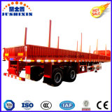 China Manufacturer 2 Axles Drop Side Semi Trailer with Best Price