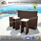 Well Furnir T-063 Weather-Proof Entertaining Garden Bistro Set