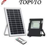 Outdoor IP65 Die Cast Aluminum 6W Solar LED Flood Light for Courtyard