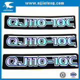 Plastic Rubber Aluminium Domed Sticker