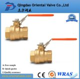 BSPT/NPT Thread Type Brass Ball Valve with Chrome Plated for Oil