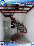 Painting Steel Structure Stair for Mezzanine Floor