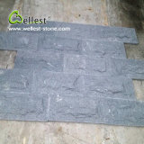China Natural G654 Black Granite Mushroom Stone Building Facade