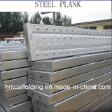 Scaffold Galvanized Steel Plank for Construction