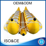 2019 Popular 0.9mm PVC Wholesale Factory Price Inflatable Water Banana Boat for Sale
