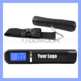 Black 40kg Digital Luggage Scale Weighing Scale with Customized Logo (Scale-01)