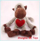 Loving Heart Plush Toys Monkey Toy Plush Toys Valentine Gift