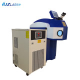 Cheap 100W 200W Vertical /Desktop Jewelry Laser Welding Machine YAG Spot Welder Factory Price with External Chiller for Metal Goldsmith Dental Lab Repair