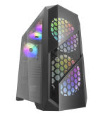 New Fashion Desktop Gaming Computer Case with Good Price MID Tower PC Case Optional Acrylic Side Panel