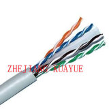 Network Cable Computer Cable CAT6 Cable UTP Solid Copper LSZH