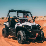 2 Persons Electric Sports Utility Vehicle with Cargo Bed