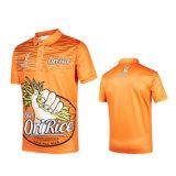 Sublimated Wholesale Custom Digital Full Color Printing T Man Men Golf Polo Shirt