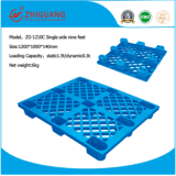 Logisticis Plastic Pallet 1200*1000*140mm HDPE Grid Stacking Nine Feet Plastic Tray for Warehouse Products