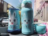 600ml Stainless Steel Bottle/Cup/Mug with Cartoon Design