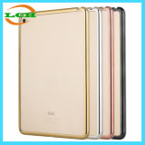 Electroplating Frame Clear Back Cover Case for iPad/iPad PRO