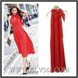 Fashion Apparel Clothes Garment Women Party Cocktail Evening Red Jumper Dress Wholesale