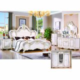 Home Furniture with Double Bed and Wardrobe (W815B)