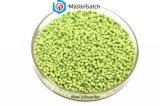 Green Plastic Granules Color Masterbatch PP/PE/ABS Resin